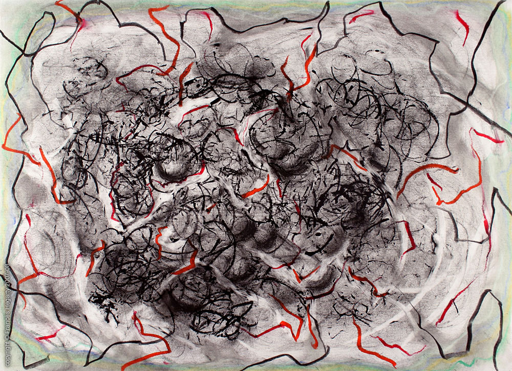 Frances Hegarty - A2 drawing #1 c.2007